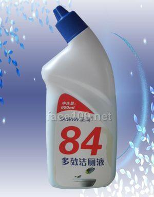 84多效洁厕液、清洁,祛除异味、杀菌除菌