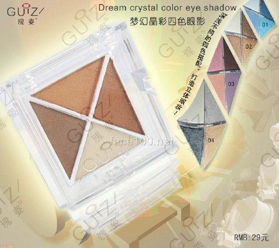梦幻晶彩四色眼影/Dream Color 4 Colors Eye Shadow