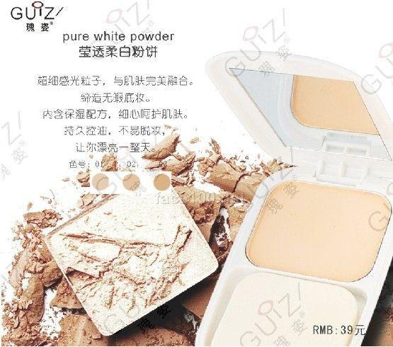 莹透柔白粉饼/Pure Whitening Powder