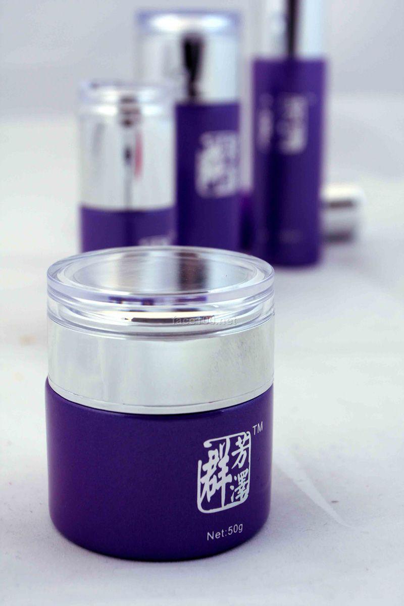美容院加盟好项目 专业线护肤品招商-群芳泽护肤品茶树控油系列