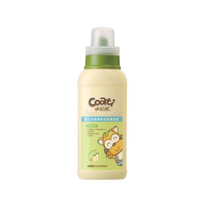 小浣熊纯真年代 婴儿草本系列  婴儿天然草本奶瓶清洁液