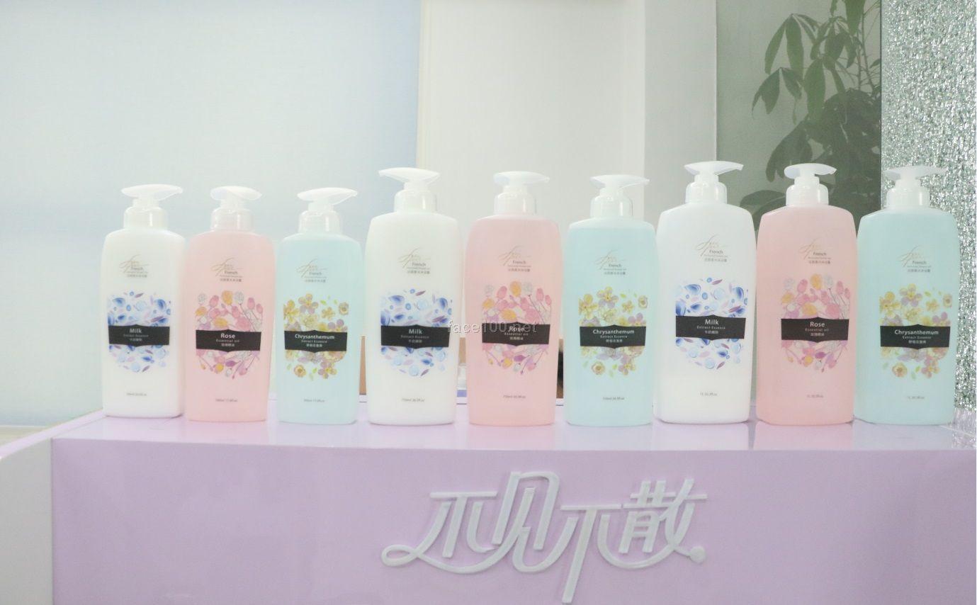 法国香水沐浴露-牛奶嫩肤/野菊花激爽/玫瑰精油