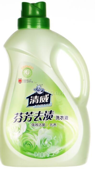 2000ml清威花语全漂洗衣液批发代理