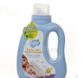 0+新生儿洗衣液1.2L瓶装