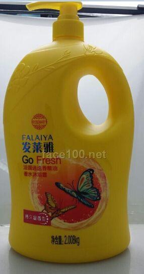 发莱雅法国迷迭香精油香水沐浴露(持久留香型) 2008g