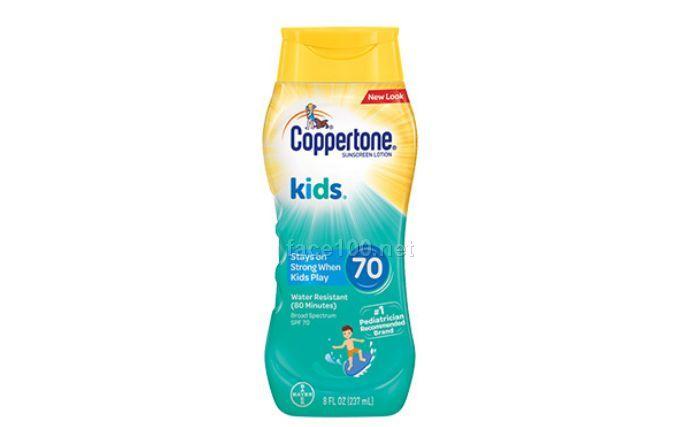 确美同®儿童防晒乳SPF70