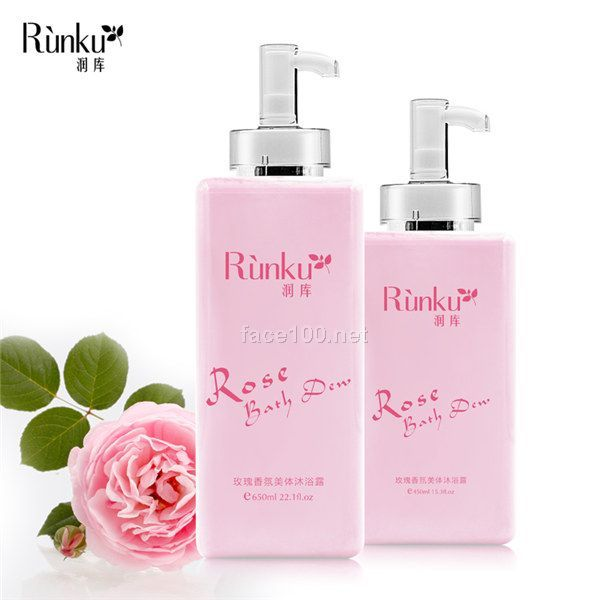 玫瑰香氛美体沐浴露代理加盟