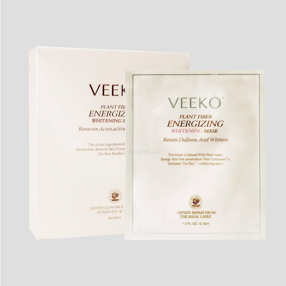 薇蔻植物纤维活能嫩白面膜直销批发代理销售