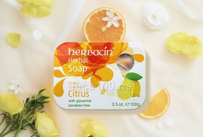herbacin柠檬洁面皂