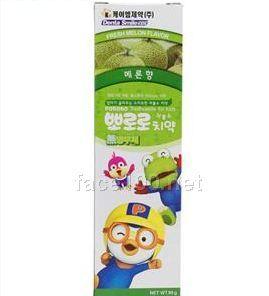 韩国进口儿童牙膏(哈密瓜香)代理