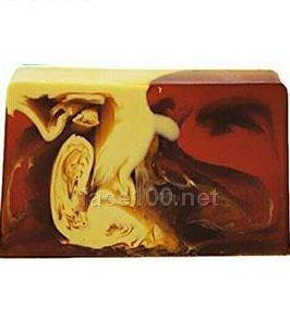 梵米雅咖啡色牛奶保湿控油手工皂代理
