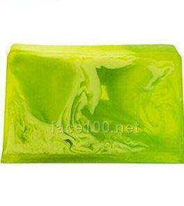 梵米雅绿草柠檬清香镇定手工皂代理梵米雅