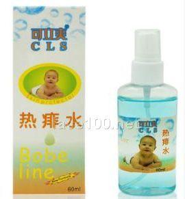 可立爽婴儿热痱水代理