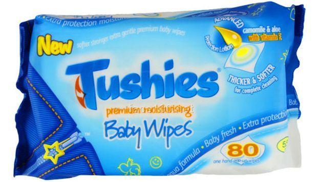 英国徒嘘适Tushies进口婴儿湿巾