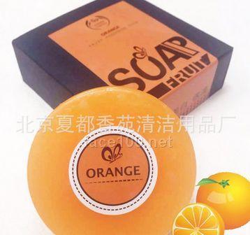 水果SPA手工香皂天然水果萃取精华手工香皂代理
