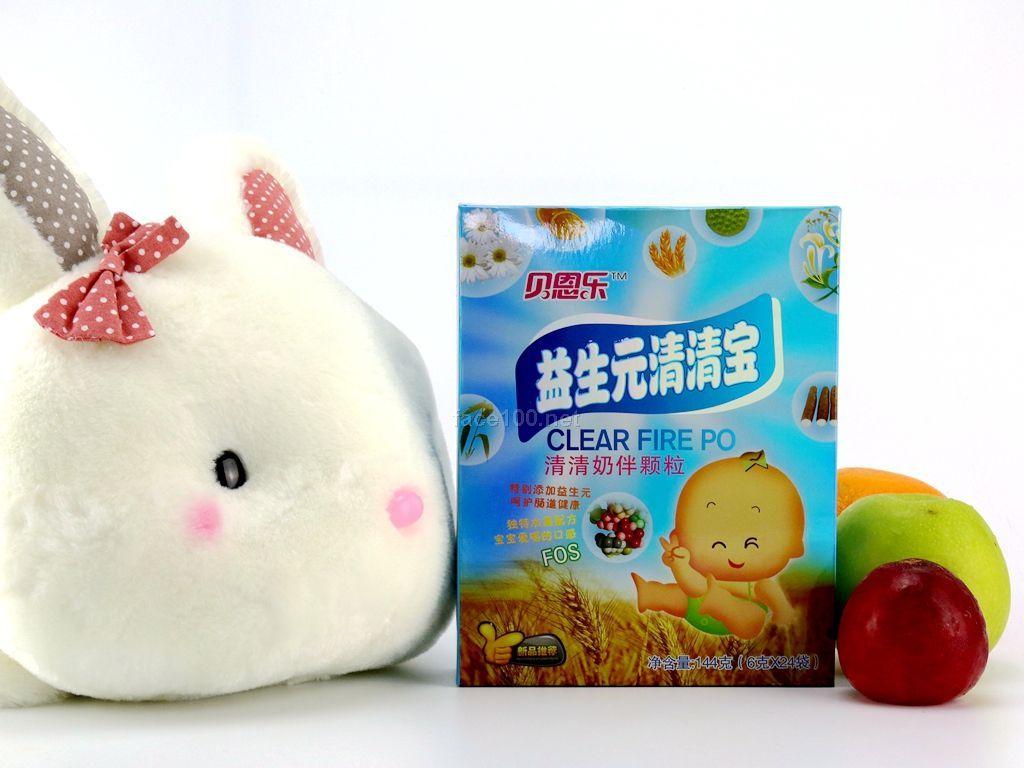 同萌乐品牌 益生元清清宝 6g*24袋/盒