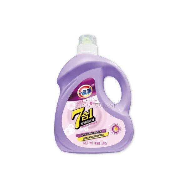七合一洗衣液一品净