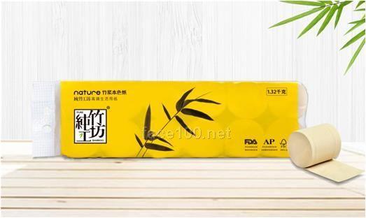 纯竹工坊无芯无膜卷纸1320G