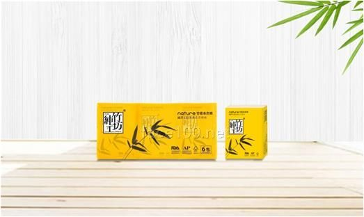 纯竹工坊手帕纸6包