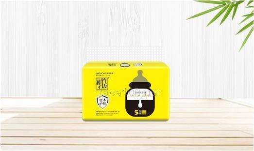 纯竹工坊乳霜纸120张(黄色包装)