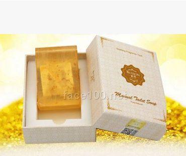 黄金透析皂纯天然植物精油皂护肤提拉紧致皮肤美白滋润手工皂