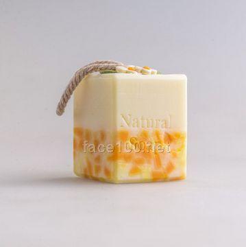 沙棘柠檬皂洁面沐浴洗脸皂保湿滋润