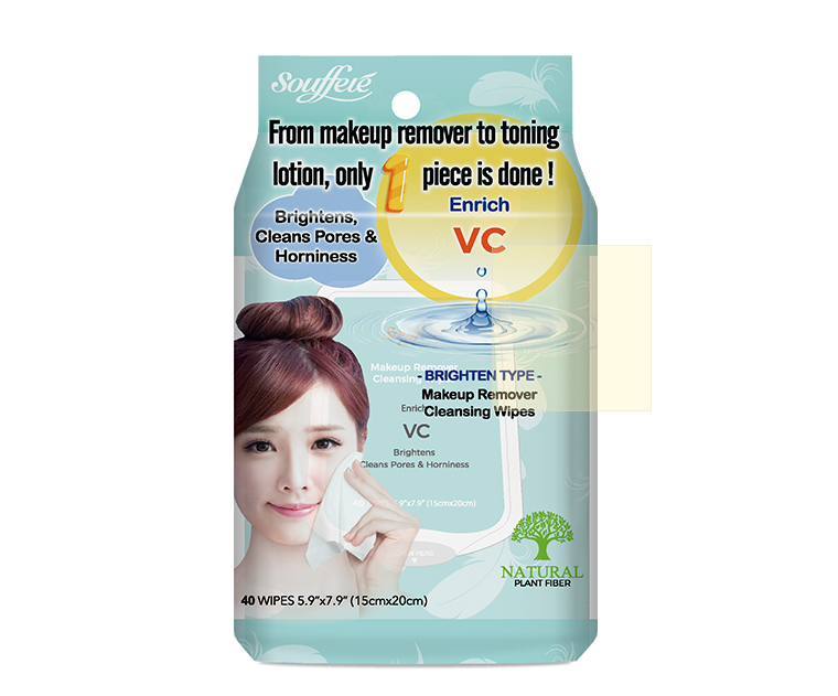 索夫蕾洁肤卸妆湿巾(透亮型)