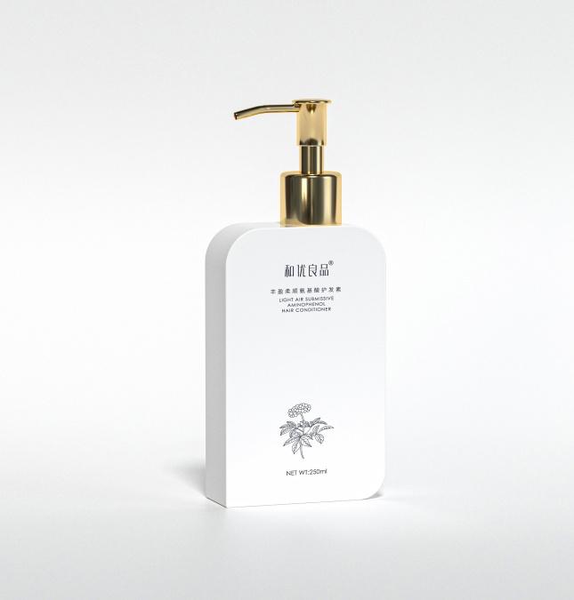 和优良品 丰盈柔净氨基酸护发素高分子防护膜防止秀发损伤