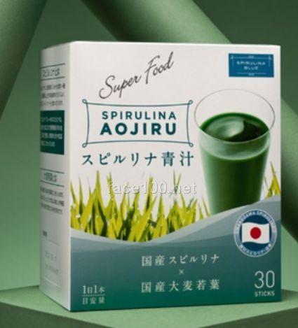 思碧丽蓝螺旋藻青汁