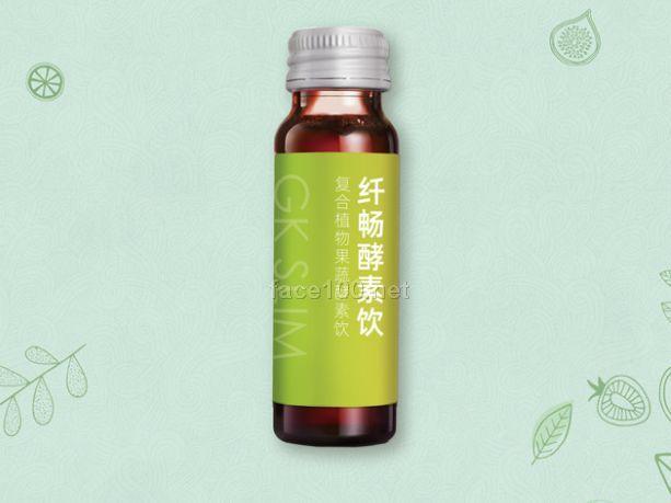 GK SLIM 纤畅酵素饮 复合植物果蔬酵素饮