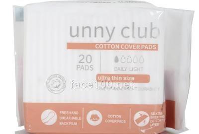 unny club亲肤155超薄护垫